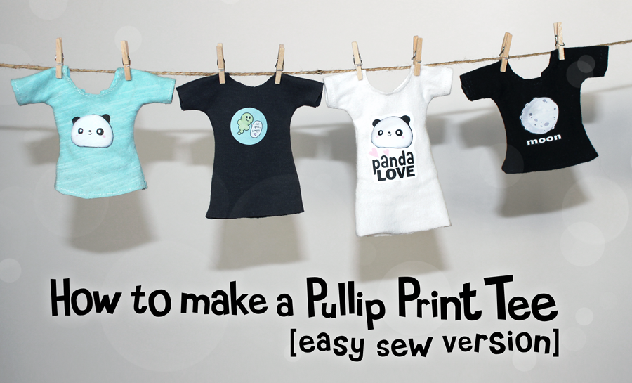 Download Free Doll T-shirt Pattern from Emma and Mr Polar Bear